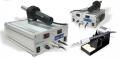AOYUE 899A+ SMD ESTACION DE SOLDADURA - AOYUE 899A+ SMD ESTACION DE SOLDADURAEste compacto centro de trabajo incluye una herramienta para soldar y una pistola de aire caliente, es el mas adecuado para revisar cubiertas pequeñas del chip y conectores plasticos. Es controlado a traves de un microprocesador. Viene con lectura de temperatura para una facil manipulacion.