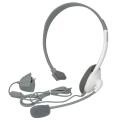 XBOX 360 Headset (Auriculares + Micrófono) (SIN BLISTER) - Con los Auriculares Xbox 360, disfrutarás como nunca antes de las vivencias de la comunidad de juegos online, Xbox Live. Podrás coordinar tus estrategias con tus compañeros de equipo, despellejar a tus contrincantes o charlar con tus amigos mientras juega