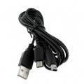 CABLE CARGADOR  USB DUAL PARA NDSLITE/NDSI/DSI XL/3DS - CABLE CARGADOR  USB DUAL PARA NDSLITE/NDSI/DSIXL/3DS, permite conectar tu NDS Lite/NDSNDSi a cualquier dispositivo USB, como PC, PS2, ... para obtener corriente y recargarla.