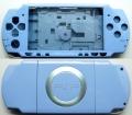 CARCASA COMPLETA DE PSP2000/SLIM COLOR AZUL CLARO (INCLUYE BOTONES) - Carcasa completa para PSP2000/SLIM.  Incluye carcasa frontal, carcasa trasera, tapa batería, tapa lector UMD y todos los botones (excepto botones L y R)  Color AZUL CLARO