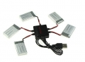 Cargador USB  Para  5 baterias simultaneas del quadcoptero  SYMA X5C/X5/X5SW/X5C1, X3/F4/X4/X2 - Cargador USB  Para  5 baterias simultaneas del quadcoptero  SYMA X5C/X5/X5SW/X5C1, X3/F4/X4/X2