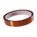 Cinta adhesiva Kapton 20mm (resitente al calor) - Cinta adhesiva Kapton 20mm (resitente al calor), tambien conocida como cinta de poliamida Producto para reballing BGA, y trabajos de soldadura en los que sea necesario proteger algun componente del calor
