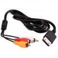 Cable AV SEGA DREAMCAST - Cable AV compatible con DREAMCAST(100% nuevo) Conexión Audio y Vídeo compuesto.