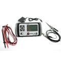 Mini Osciloscopio Digital Allosun  Em125 25Mhz - Mini Osciloscopio Digital Allosun  Em125 25Mhz Funciones de Multimetro, medicion de voltaje, comprobacion de condensadores, diodos, continuidad. Pequeño y portatil, con puerto usb de carga para una facil carga de la bateria.