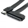Cable eSATA (eSATA+USB combo) a 22 Pin SATA cable. - Cable eSATA (eSATA+USB combo) a 22 Pin SATA cable.