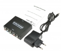 Convertidor señal Video  HDMI a Vídeo Componente (YPbPr) + señal audio estereo - Convertidor señal Video  HDMI a Vídeo Componente (YPbPr) + señal audio estereo Este convertidor convertira cualquier señal de video hdmi a video por componentes (Y-Pb-Pr). Con el podrá disfrutar de vídeos y juegos de alta definición en viejos televisores y proyectores sin puertos HDMI. Muy fácil de instalar y usar, este kit es una solución facil  para presentaciones en salas de conferencia, escuelas y diferentes entornos de formación, asi como en casa.