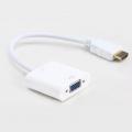 Convertidor señal Video HDMI a salida video VGA - Cable Adaptador HDMI a VGA - Adaptador con salida de audio