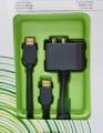 Cable HDMI Xbox 360 - Aprovecha las posibilidades de alta definición digital de Xbox 360™ con el Cable HDMI Xbox 360. Disfruta de la alta definición digital del vídeo y el audio en un solo cable. Disfruta de películas y juegos con una resolución de hasta 1080p y un audio de calidad superior a través de la salida de sonido surround Dolby Digital 5.1.  Utiliza el adaptador de audio óptico/RCA para mejorar el sonido en los sistemas estéreo que no admitan HDMI. Conecta tu consola a un equipo de alta definición y disfruta
