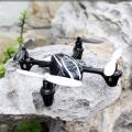 Micro Quadcoptero JD-385 2,4ghz 4 canales, 6 ejes y giroscopio - Micro Quadcoptero JD-385 2,4ghz 4 canales, 6 ejes y giroscopio Probablememente el quadcoptero mas pequeño de solo 8x8x3 cm, y con una capacidad de vuelo total que permite desplazarse en cualquiera de los 6 ejes, con un mando de 2,4ghz que mejora la respuesta de movimiento de los mandos tradicionales, es posible usarlo para uso exterior e interior