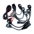 Kit profesional de cables para coches especial obdii - Kit profesional de cables para coches especial obdii Exsiten muchos vehiculos que pese a usar el standard OBDII utilizan un conector propio, este pack incluye 7 adaptadores del conector standard OBDII al propio del fabricante