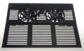 """Base Refrigeración plegable portátiles mod-788 - Base plegable  con ventiladores para portátiles con pantalla de hasta 15"""" con base de aluminio para una mejor distribución del calor, conexión USB, ergonómico, reduce la temperatura del portátil y mejora la posicion de trabajo."""