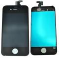 Pantalla Iphone 4 + Panel Tactil y Cristal Lista para instalar NEGRO - Remplazo de pantalla LCD + panel tactil + pantalla digitalizadora  + cable flex + marco de soporte NEGRO , todo ensamblado y listo para montar.
