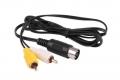Cable AV SEGA MEGADRIVE 1/ GENESIS 1 / MasterSystem 1 - Cable AV compatible con SEGA MEGADRIVE 1/ GENESIS 1 / MasterSystem 1(100% nuevo) Conexión Audio y Vídeo compuesto.