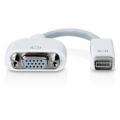 Adaptador MINI DVI a VGA - Adaptador de Mini DVI a VGA podras conectar una pantalla,TV o  proyector utilice un cable o conector VGA a un Mac con conexión Mini DVI.