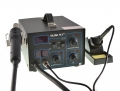 Estación de soldadura Aire Caliente MLINK H3+ - Estación de soldadura Aire Caliente MLINK H3+ Estacion aire caliente regulable de 100º a 500º con 800W de potencia y soldador regulable de 50W regulable de 200°C - 480°C.