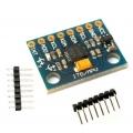 MODULO ACELEROMETRO GIROSCOPO DE 3 EJES MPU-6050 -Arduino Compatible - MODULO ACELEROMETRO GIROSCOPO DE 3 EJES MPU-6050 -Arduino Compatible
