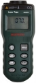 Medidor de Distancias por Ultrasonido con apuntador laser Mastech MS6450 - Medidor de Distancias por Ultrasonido con apuntador laser Mastech MS6450 Los medidores de ultrasonidos funcionan según el principio del tiempo de propagación del sonido. Estos medidores emiten una onda sónica de forma cónica, dispersa e inaudible por el oído humano, la onda rebota sobre el obstáculo que se encuentra en frente (en principio una pared) y vuelve a su punto inicial (el medidor que es a la vez emisor y receptor). Partiendo de la base en que la velocidad del sonido es estable, el medidor determina la distancia en función del tiempo transcurrido entre la emisión de la onda y su recepción tras el rebote, ademas incluye un apuntador laser para poder apuntar el punto que queremos medir.