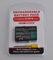 Batería Recargable de Ion-Litio para  NDS Lite - Batería Recargable de Ion-Litio NDS Lite  • Sólo para NDS Lite  • 3.7V 1000mah.  • Ofrece más de 2 horas seguidas de juego.  • Por favor, recargue la batería durante 7-8 horas la primera vez que la use