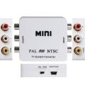 PAL/NTSC to PAL/NTSC Bi-directional TV Format System Converter Box Adapter - Convertidor señal de video PAL / NTSC a PAL/NTSC Bidireccional  adaptador / sistema de conversión