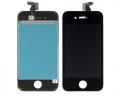 Pantalla Iphone 4S + Panel Tactil y Cristal Lista para instalar NEGRO - Remplazo de pantalla LCD + panel tactil + pantalla digitalizadora  + cable flex + marco de soporte NEGRO , todo ensamblado y listo para montar.