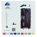 Pizarra magnética  para  organizar tornillos iphone 4  - Pizarra magnética  para  organizar tornillos iphone 4