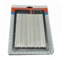 Placa de  prototipo 21.5cm x 13cm-1660 puntos-base metalica y conexion corriente - PLACA DE PROTOTIPO 21.5cm x 13cm