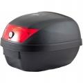 Universal baúl de moto scooter maleta 28 L motocicleta para 1 casco, portacasco mod-YM-0807  - Universal baúl de moto scooter maleta 28 L motocicleta para 1 cascosbr> incluye 2 llaves del cierre