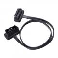 Cable prolongador Obd2 60cm con angulo de 90grados - Cable prolongador Obd2 60cm, conectores Macho y Hembra.