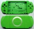 CARCASA COMPLETA DE PSP2000/SLIM COLOR VERDE (INCLUYE BOTONES) - Carcasa completa para PSP2000/SLIM.  Incluye carcasa frontal, carcasa trasera, tapa batería, tapa lector UMD y todos los botones (excepto botones L y R)  Color VERDE.