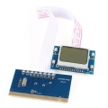 Tarjeta de diagnostico PCI para Pc con pantalla LCD  modelo PTI-9 - Tarjeta de diagnostico PCI para Pc con pantalla LCD  modelo PTI-9