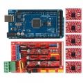 Pack  RepRap RAMPS 1.4 + Arduino Mega + 5 control paso a paso A4988 - Pack  RepRap RAMPS 1.4 + Arduino Mega + 5 control paso a paso A4988