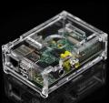 Caja Metacrilato Para Raspberry Pi transparente (compatible modelos A y B) - Caja para Raspberry Pi con ranuras para los puertos USB, Ethernet, SD, HDMI, Video, Audio, Header de periféricos, Conectores CSI y JTAG.