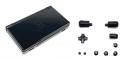 Carcasa de recambio para Nintendo DSi en color Negro - Carcasa completa de repuesto para DSi. Incluye todos los botones y tornillos.