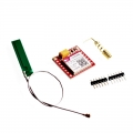 Módulo SIM800L GPRS GSM MicroSIM Quad-band con antena compatible arduino - Módulo SIM800L GPRS GSM MicroSIM Quad-band con antena compatible arduino