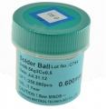 Bote bolas estaño SIN PLOMO,65mm 250.000 ud - Bote bolas estaño con plomo 0,65mm 250.000 ud. Producto para reballing BGA