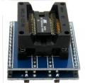 Zocalo programador facil insercion Sop28 a Dip28 PITCH 1,27 - Zocalo programador facil insercion Sop28 a Dip28 PITCH 1,27 Compatible con todos los programadores que vendemos.