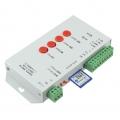 T-1000S controlador DMX512 programable para led RGB con tarjeta de memoria  WS2811 WS2801 LPD8806 LP - T-1000S controlador DMX512 programable para led RGB con tarjeta de memoria compatible con ic WS2811 WS2801 LPD8806 LPD8809 y muchos mas