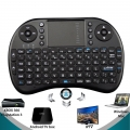 Teclado inalambrico con track pad mod T2 para minipc, android tv, media center  -  Teclado inalambrico con track pad mod T2 para minipc, android tv, media center