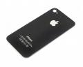 Tapa Trasera Cristal  iPhone 4S  Negro - Tapa Trasera Cristal  iPhone 4 Negro Repuesto que corresponde a la tapa trasera cristal  iPhone 4 Negro.