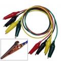 TL2300 Cable cocodrilo a cocodrilo - AWG16 - 55cm - 4 colores disponibles - TL2300 Cable cocodrilo a cocodrilo - AWG16 - 55cm - 4 colores disponibles