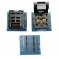 Zocalo programador facil insercion TQFP32/LQFP32/ A DIP28 - Zocalo programador facil insercion TQFP32/LQFP32 A DIP28 Compatible con todos los programadores que vendemos.