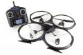 U818A Quadcoptero  2,4ghz 4 canales, 6 ejes y giroscopio con camara HD, 32cm x 32cm x 7cm - U818A Quadcoptero  2,4ghz 4 canales, 6 ejes y giroscopio con camara, 32cm x 32cm x 7cm Quadcoptero de 32cm x 32cm x 7cm, y con una capacidad de vuelo total que permite desplazarse en cualquiera de los 6 ejes, con un mando de 2,4ghz que mejora la respuesta de movimiento de los mandos tradicionales, y una camara