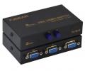 VGA Switch , conmutador de señal  VGA 2 entrada 1 salida - Switch con dos entradas VGA. Conecta dos dispositivos VGA a un solo monitor y selecciona el dispositivo que quieres visualizar en cada momento.