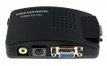 Convertidor señal Video/ S-video  a VGA - Convertidor señal Video/ S-video  a VGA Convierte cualquier señal Video/ S-video , consola, camara video, camara fotos etc.. y visualiza las imagenes directamente en un pantalla de ordenador.
