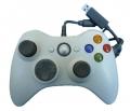 Mando con cable XBOX 360 *Compatible* Blanco - Mando con cable XBOX 360 *Compatible* Blanco