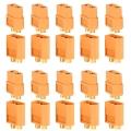 PACK 20 CONECTORES XT60 (10 HEMBRA + 10 MACHO) - PACK 20 CONECTORES XT60 (10 HEMBRA + 10 MACHO)