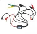 Cables fuente alimentacion regulable EXCEL  - Cables fuente alimentacion regulable EXCEL  incluye salidas, USB, pinzas cocodrilos, y clips